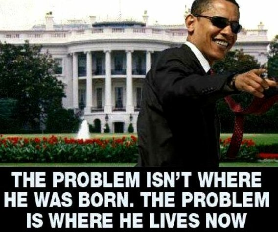 Problem is where he lives now