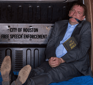 City of Houston free speech enforcement
