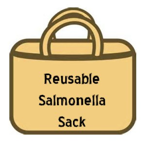 Reusable salmonella sack