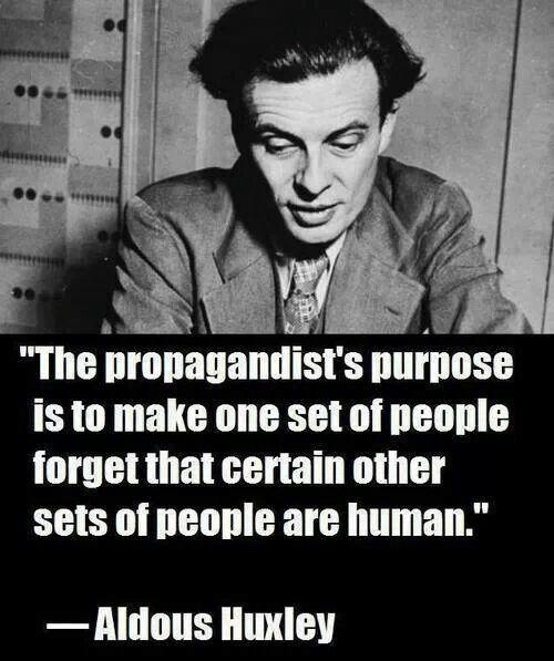 Aldous Huxley on propaganda