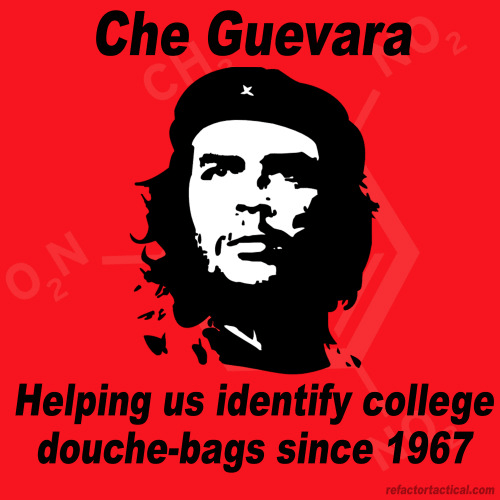 Che Guevara and college students