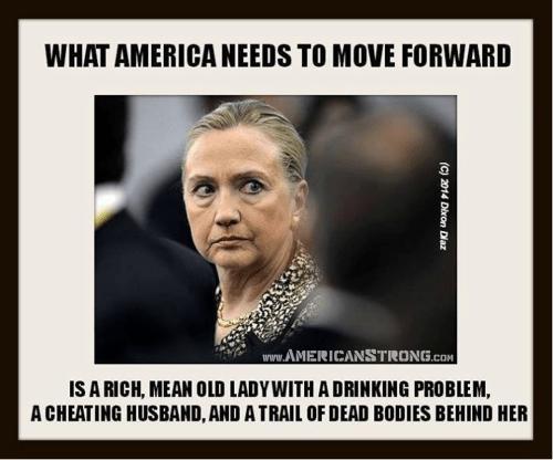 Hillary Clinton forward