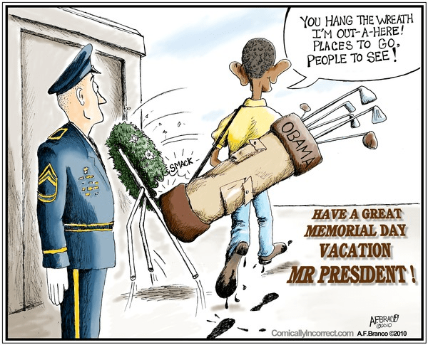 Obama and memorial day