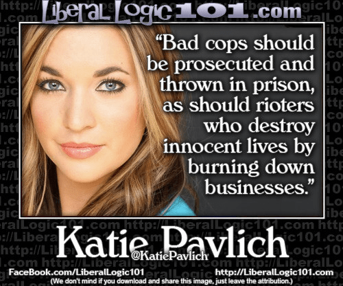 Punish both bad cops and rioters