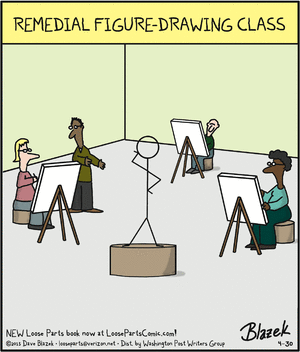 Remedial drawing class