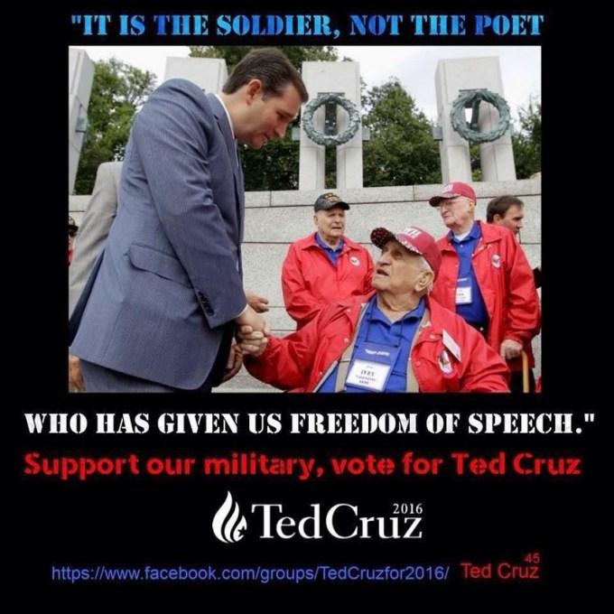 Ted Cruz for president