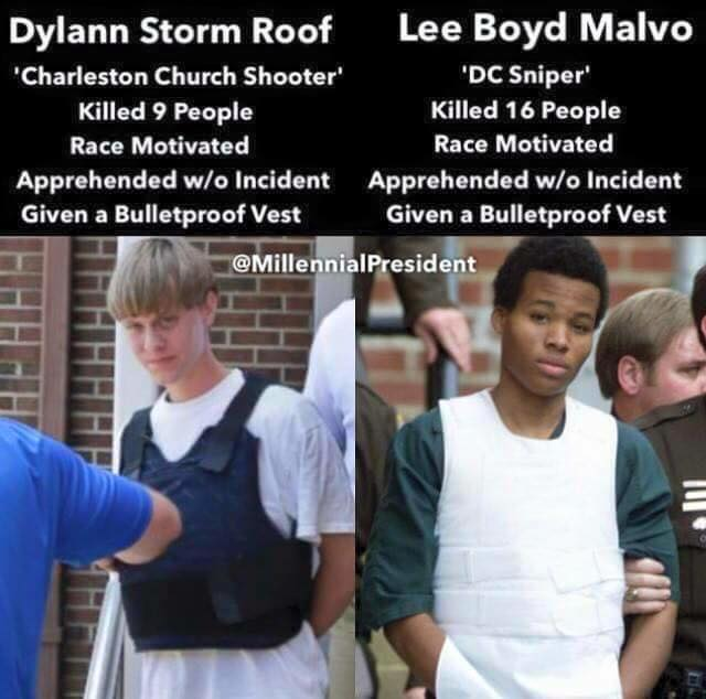 Bullet proof vests for mass murderers