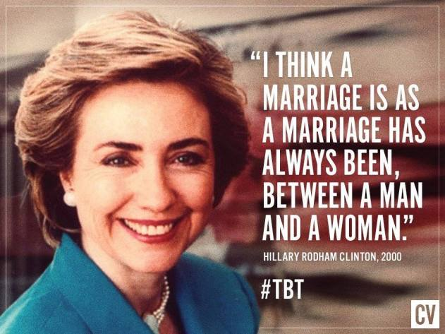 Hillary Clinton on gay marriage in 2000