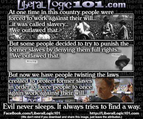Slavery reborn in America