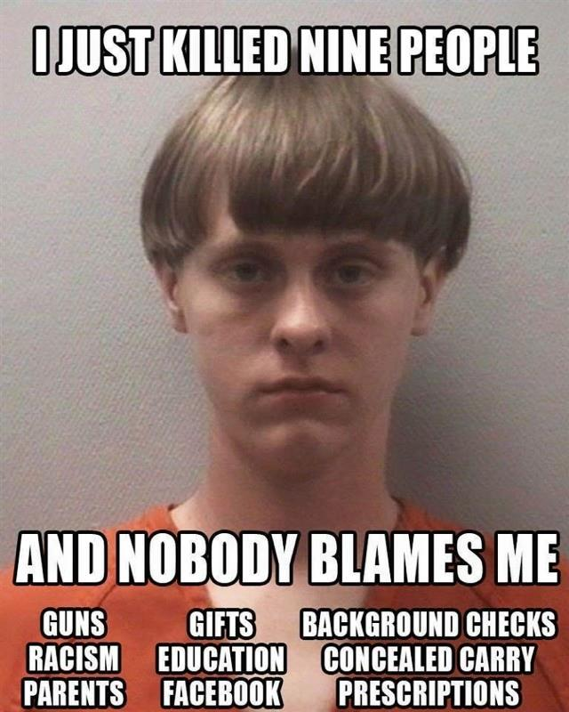 Who's really to blame in mass shootings