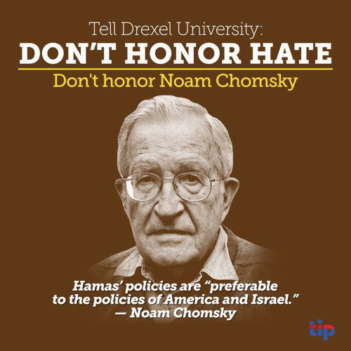 Drexel and Noam Chomsky