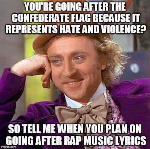 Hateful rap music