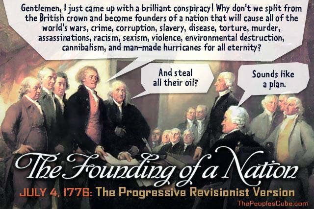 How the Left sees America's founding