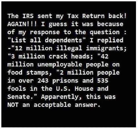 IRS dependents