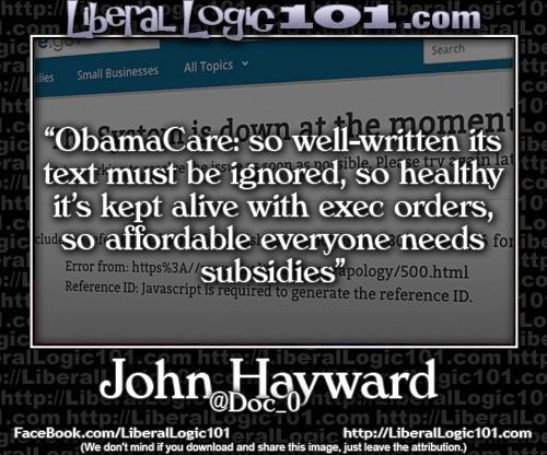Obamacare's failures