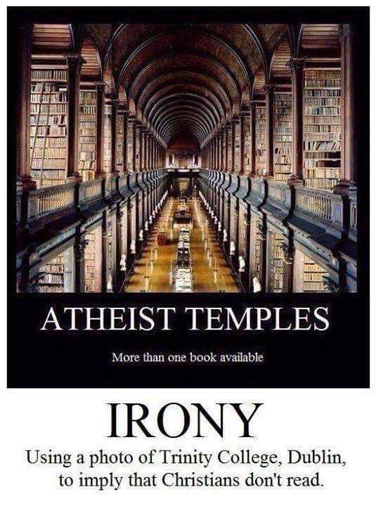 Atheists Trinity College Dublin