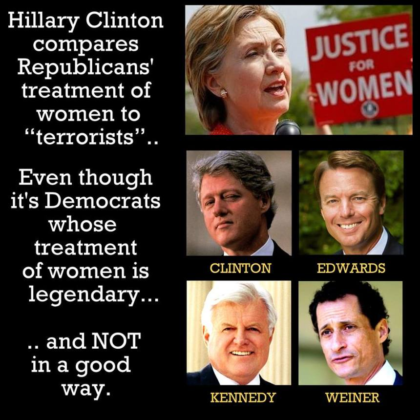 Democrat politicians' war on women