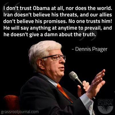 Dennis Prager on Obama