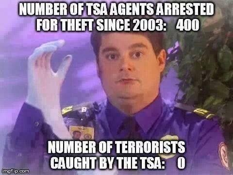 TSA at work