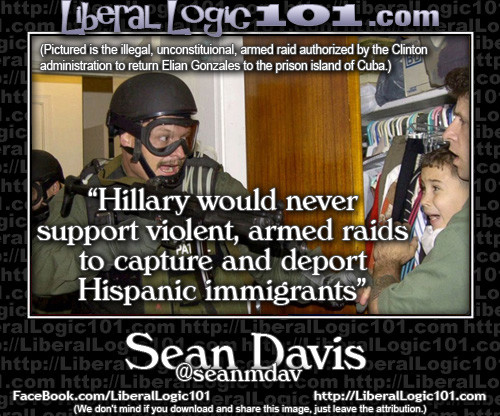 Elian Gonzales and Hillary