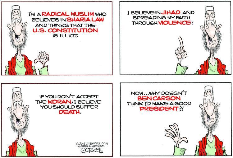Muslim as president