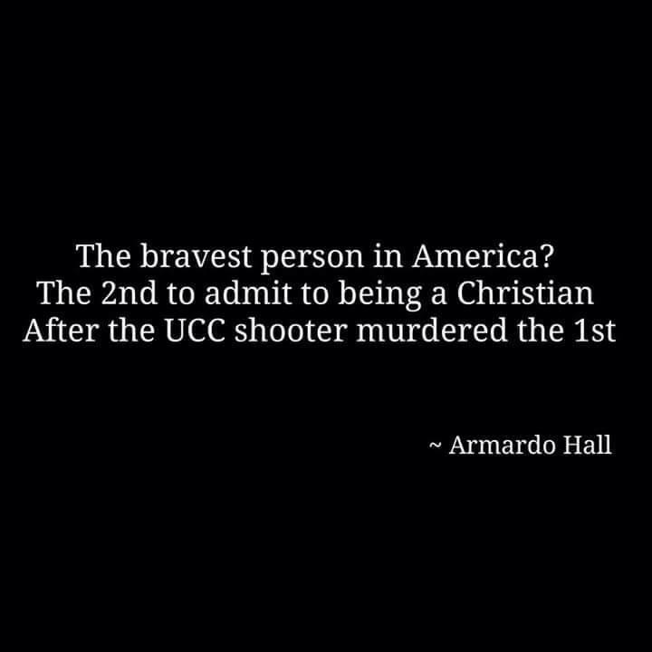 Bravest person in America