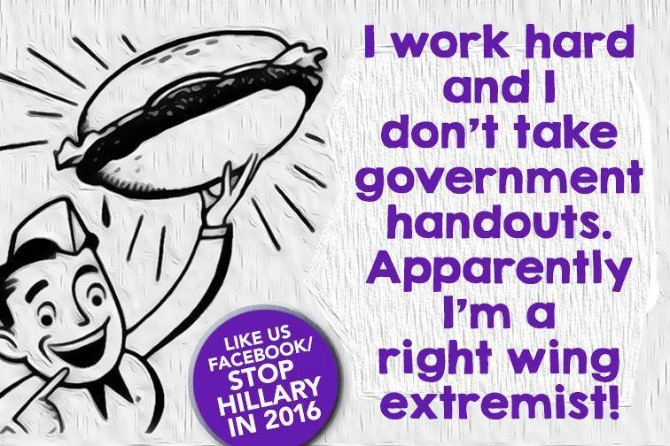 Hard working right wing extremist