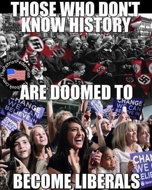 Historic illiterates doomed to become liberals