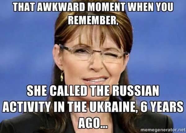 Sarah Palin and Russia