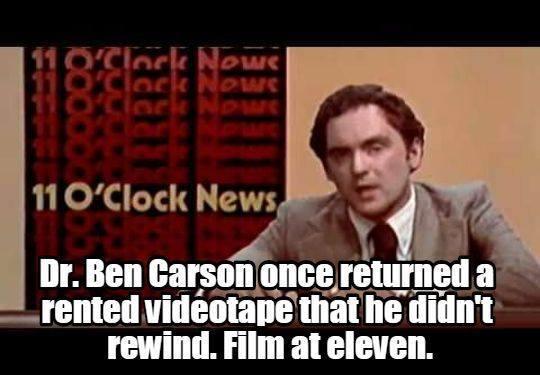 Media attacks on Ben Carson
