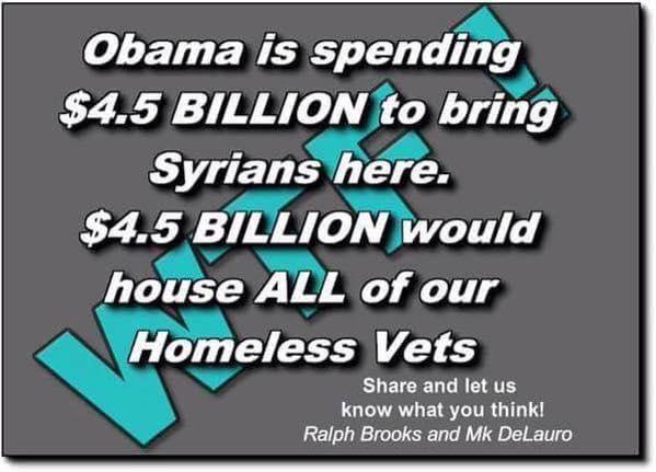 Obama spending on Syrians