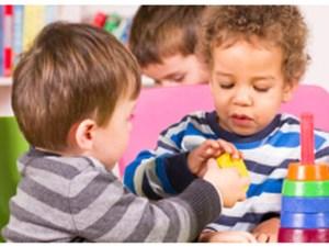 children sharing