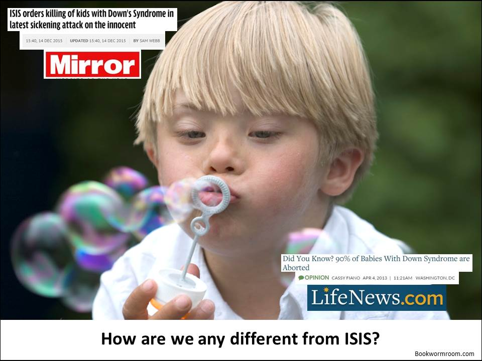 Down Syndrom - How are we different from ISIS