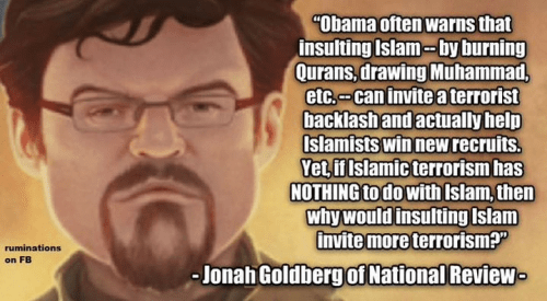 Obama insulting Islam