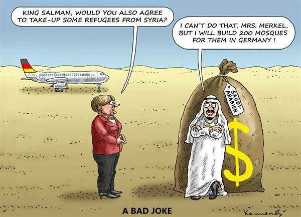 Arab states refuse to take in refugees