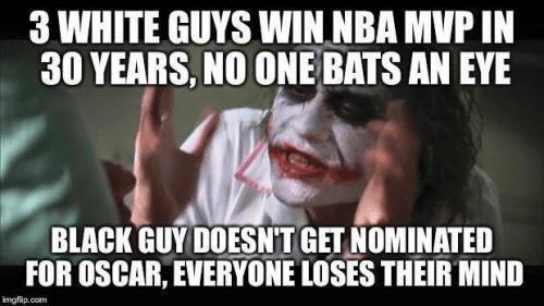 Basketball MVPs versus Oscars