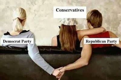Conservatives Republicans Democrats