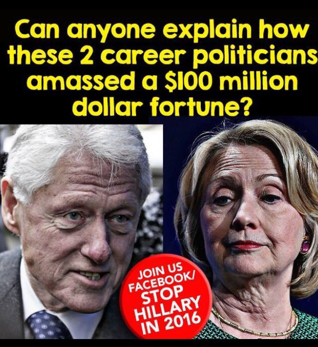 How did Clintons get rich