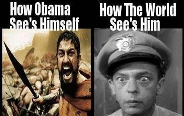 Obama sees self as warrior world sees as fool