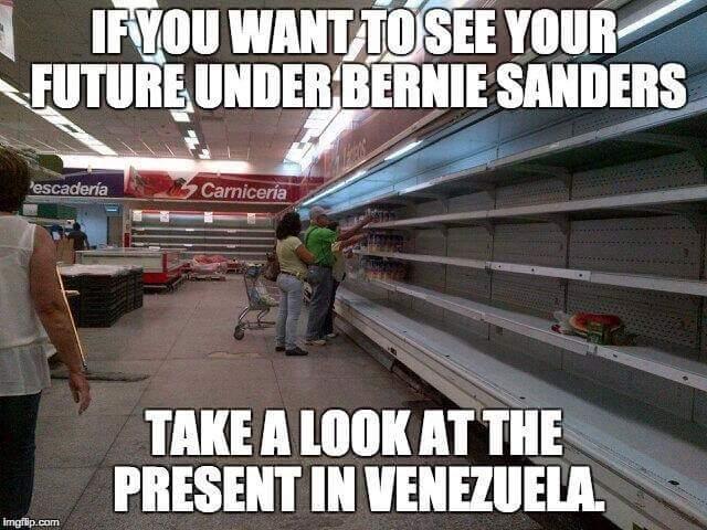 Bernie Sanders Venezuela