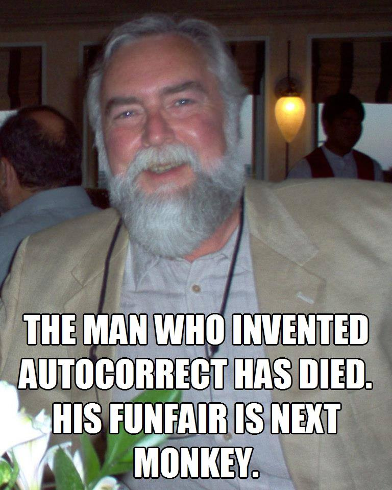 Man who invented autocorrect