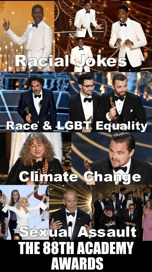 Academy award weirdness