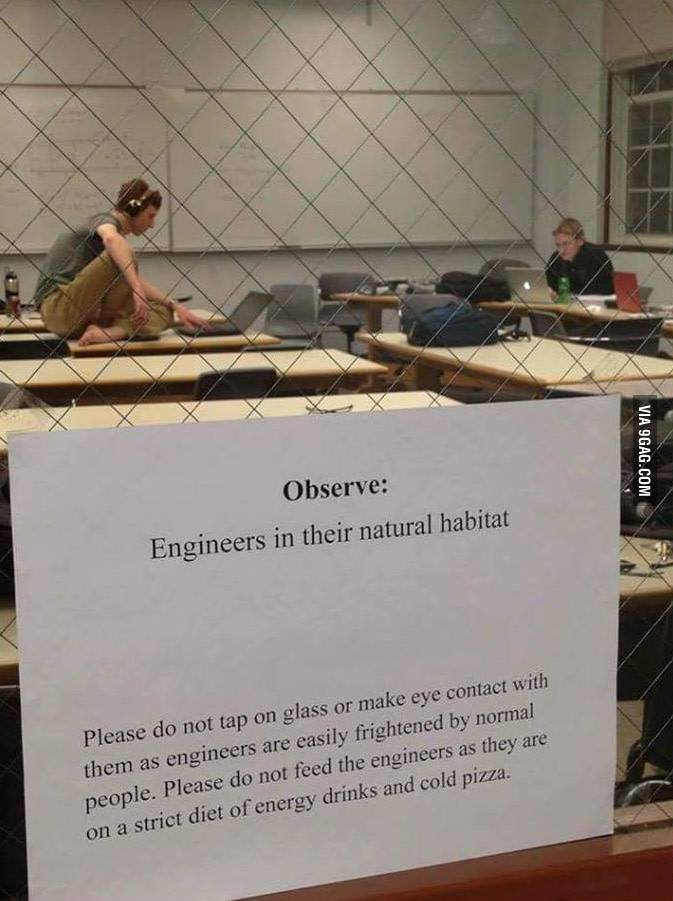 Engineers at work