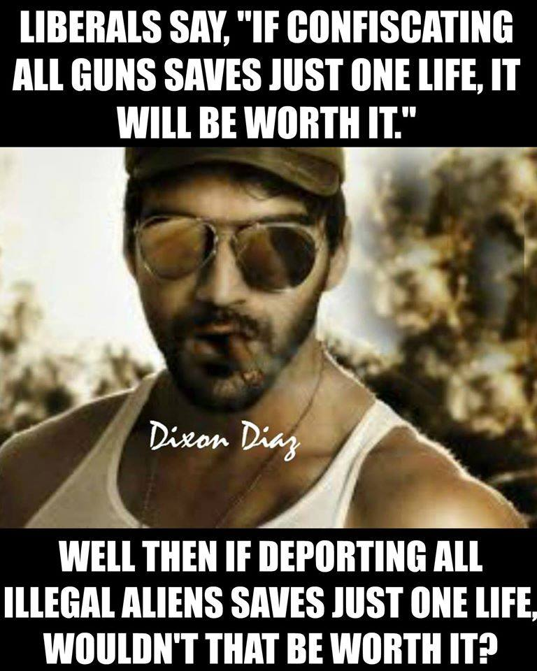 Guns Illegal immigrations deportation