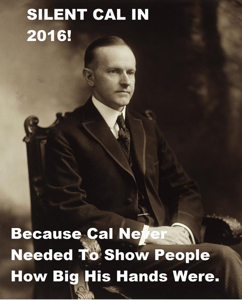 Silent Cal for president