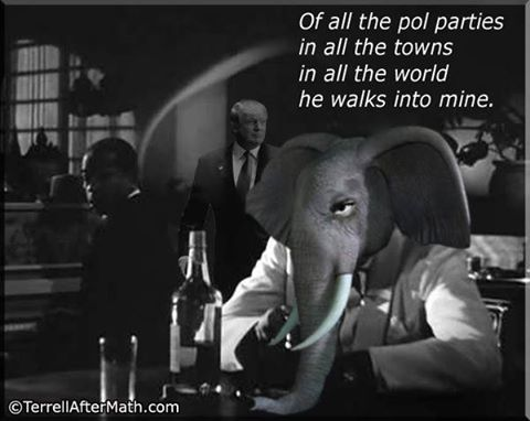 Trump Republican Party Casablanca spoof