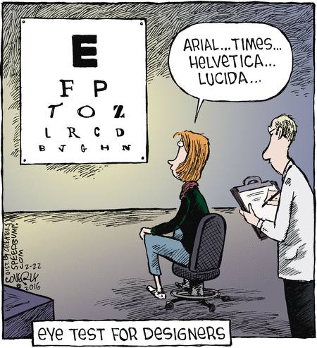 eye tests for designers