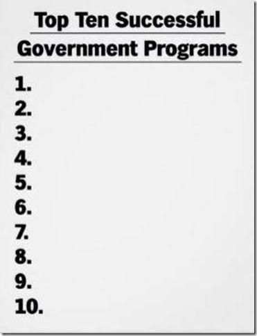 Government top ten successful programs