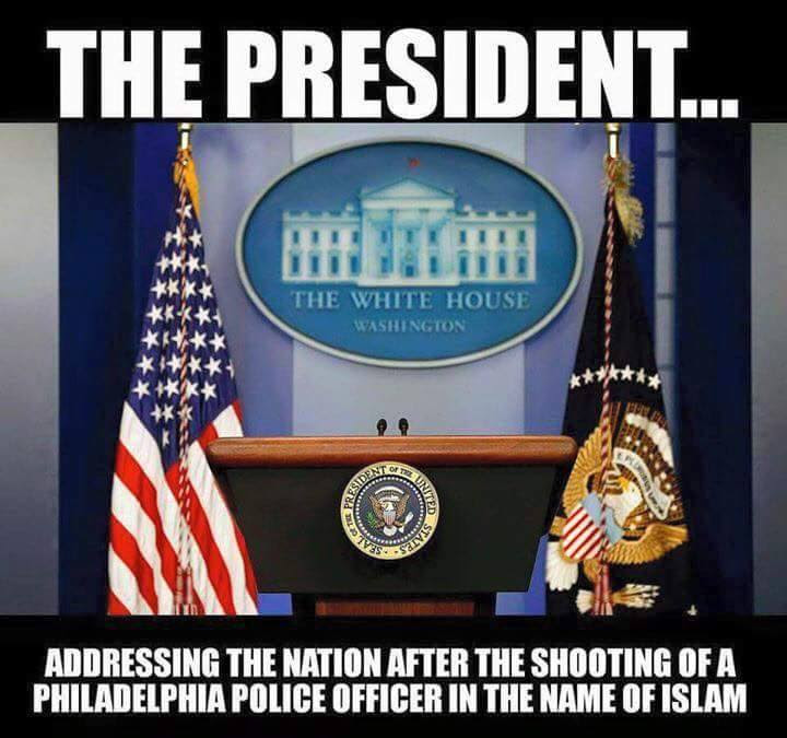 Obama Police lives Muslim violence