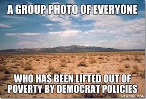 Stupid liberals no one escapes poverty with Democrats